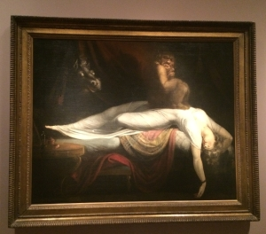 "Henry Fuseli's ""The Nightmare"""