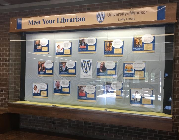 liaison librarian wall