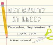 Get Crafty at Leddy