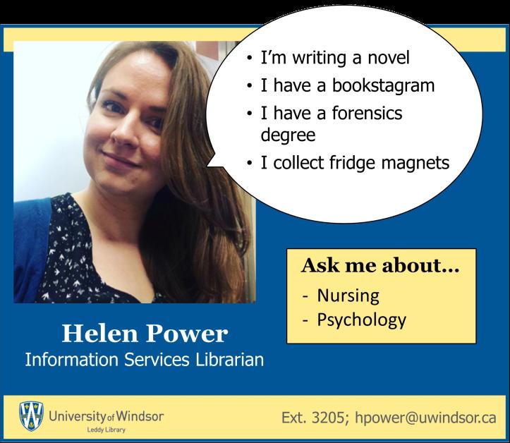 Helen Liaison profile poster
